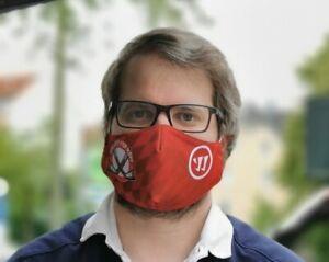 Charity: Warrior Mund-Nasen-Stoffmaske waschbar, angenehmes Tragegefühl