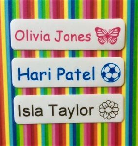 50-75-or-100-Iron-On-Name-Tags-Name-Labels-Name-Tapes-with-Picture