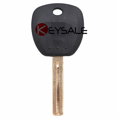 New Replacement Transponder key Chipped Uncut Blade ID46 Chip HYN14RT14 for Hyundai 2 Pack