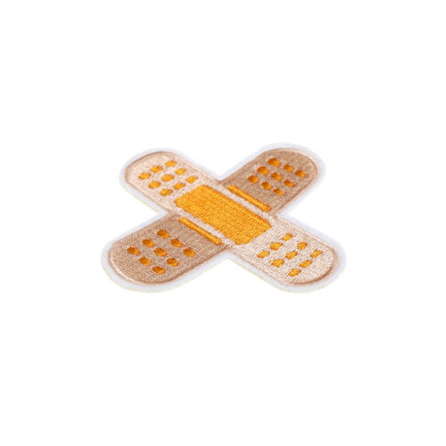 Bandage Embroidery Patch for Clothes Ironing on Stickers Patch Sewing Applique D