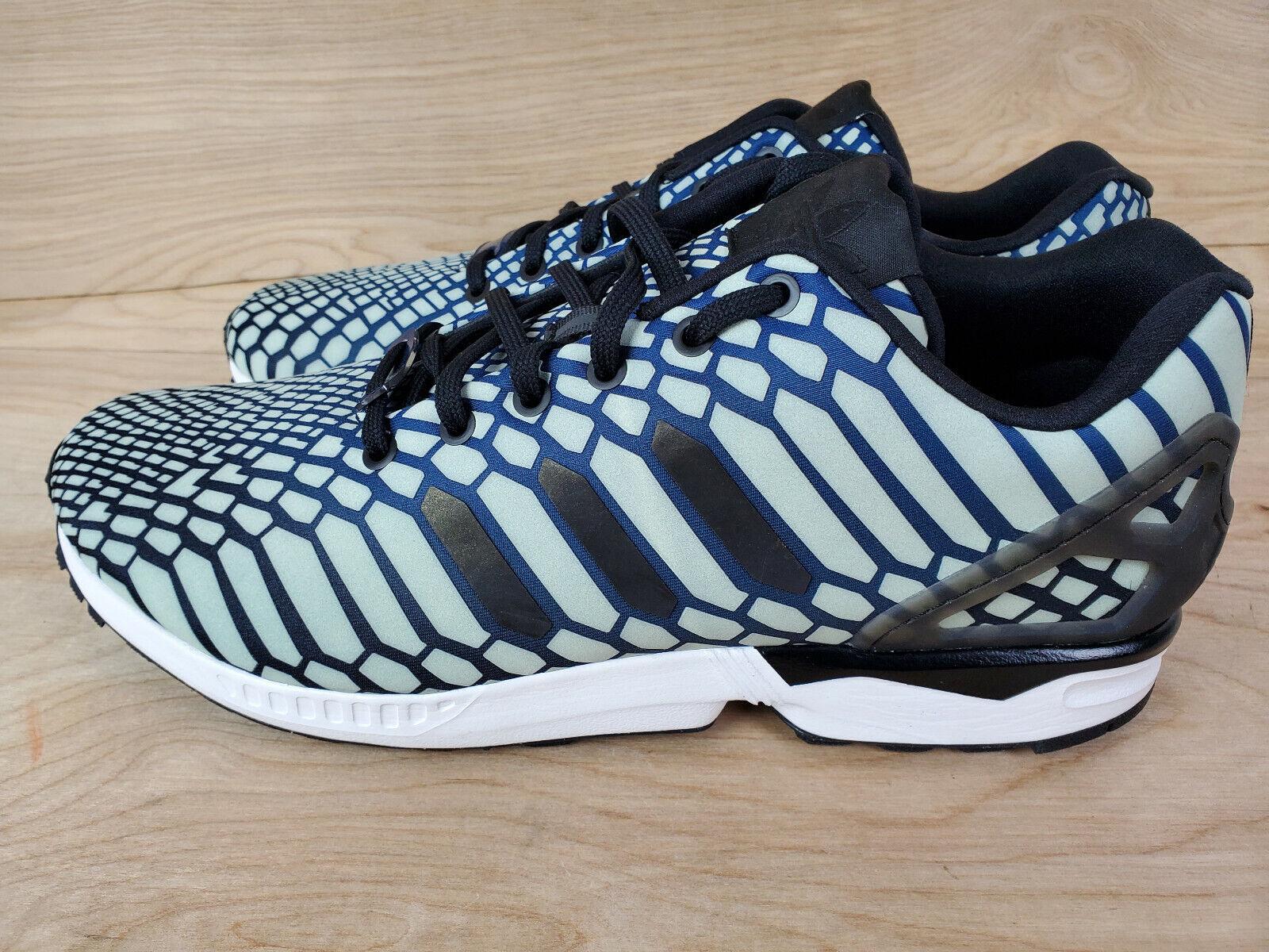 Adidas ZX Flux Xeno GLOW Hi-Viz New Mens, Size 10 Reflective Shoes ART AQ4534