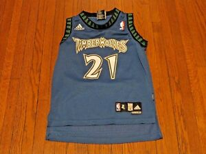 d6ae128f5 Image is loading Adidas-NBA-Minnesota-Timberwolves-Kevin-Garnett-Away- Swingman-
