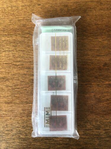 Vishay Micro-Measurements Strain Gauge EK-03-250RD-10C 5 gage pack Option SE