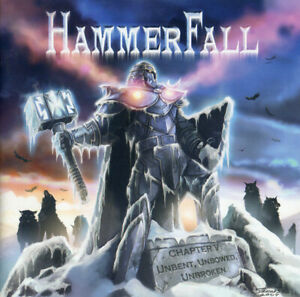 HAMMERFALL-Chapter-V-Unbent-Unbowed-Unbroken-2-bon-trks-CD-12-trks-SEALED-NEW