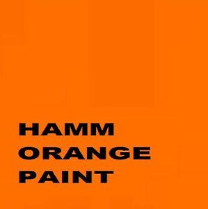Hamm Roller Orange Paint Machinery Enamel 1Lt paint Brush or Spray 1000ml