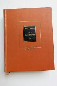 HENRY-DE-MONTHERLANT-LES-BESTIAIRES-1947