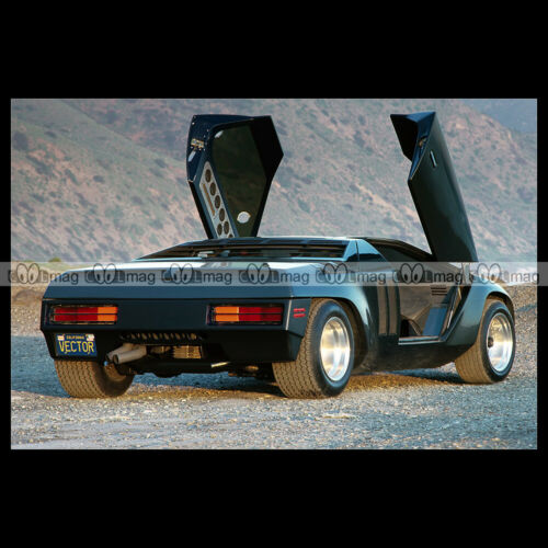 #pha.024210 Photo VECTOR W2 PROTOTYPE 1980 Car Auto
