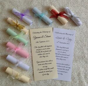 muslim indian hindu sikh asian wedding scrolls card thank you or