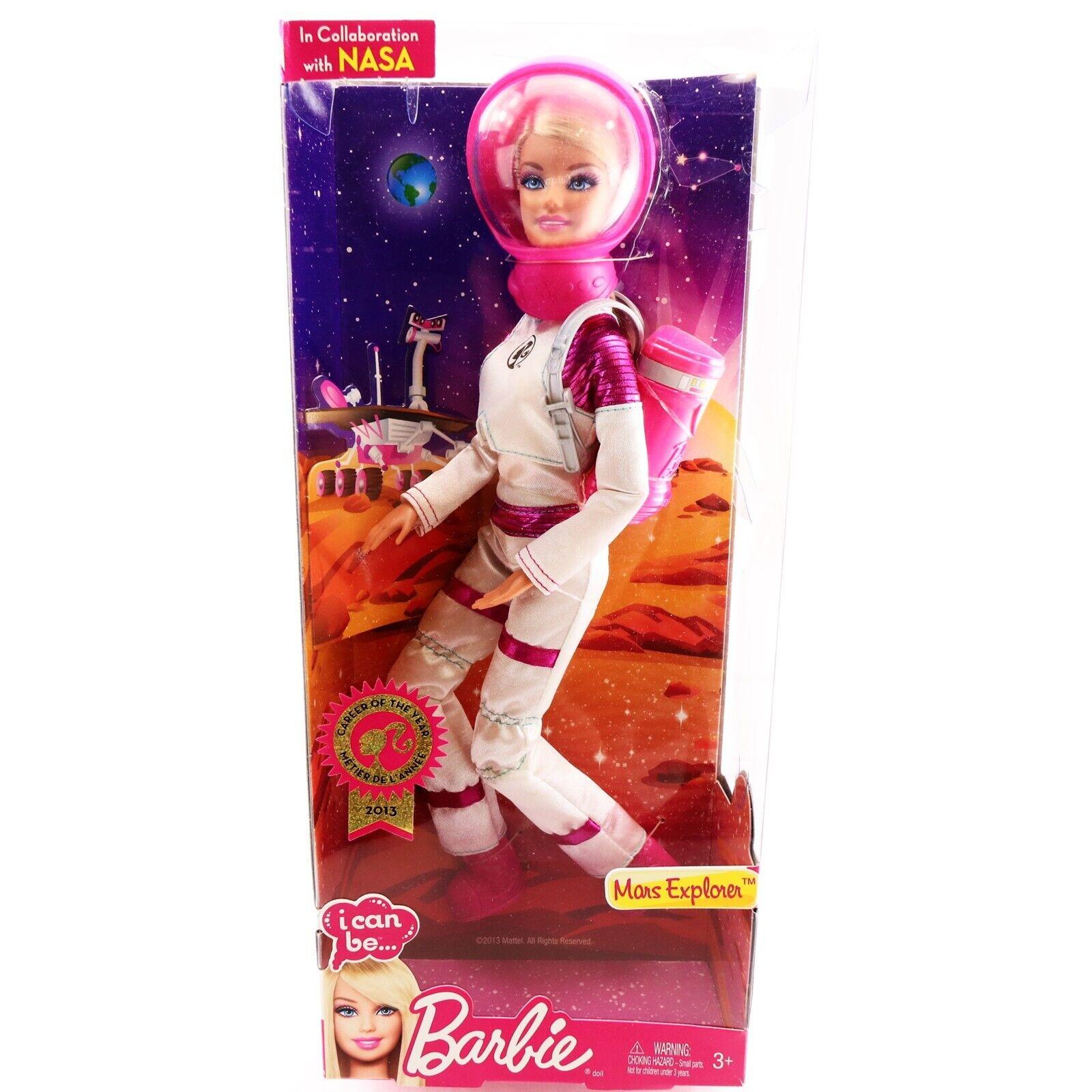 Barbie Puedo Ser Marte explorador de la NASA carrera del año 2013 Muñeca Juguetes para niñas 3
