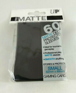 Yu-Gi-Oh-60-Protege-Cards-Sleeves-Small-Ultra-Pro-Matte-Black