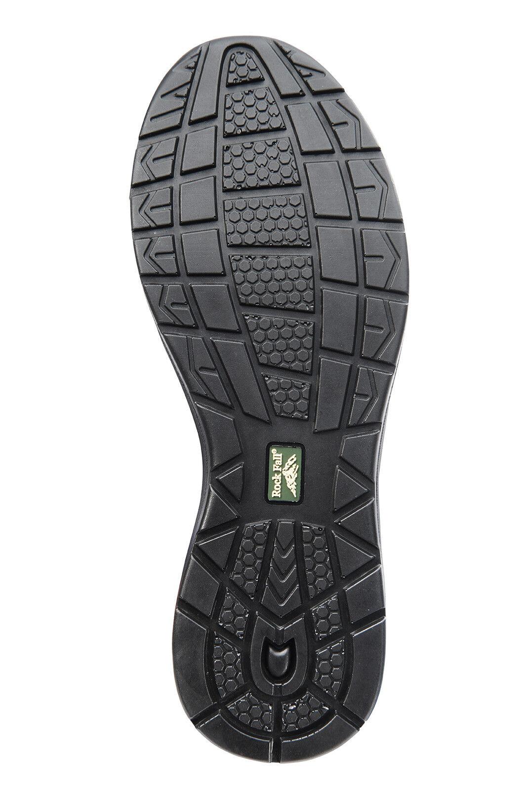 Rock Fall de cromita RF660 S3 Negro SRC Ligero 100% Ligero SRC Zapatos Seguridad No Metálica 581d8c