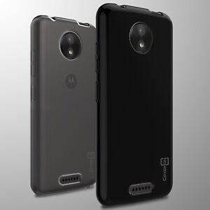 detailed look ef81d bd314 For Motorola Moto C Case TPU Flexible Slim Lightweight Phone Cover ...