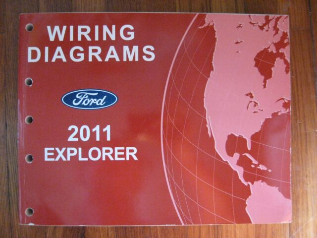 2011 Ford Explorer Electrical Wiring Diagram Service Shop Manual