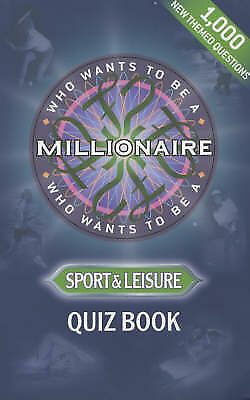 """1 of 1 - """"Who Wants to be a Millionaire?"""": Sports: Quiz Book, Quizmasters, New Book"""