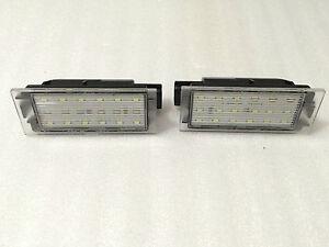 LAMPADE-LED-PER-TARGA-LUCI-LED-RENAULT-VELSATIS-2006-2009-OMOLOGATO-E4-CE