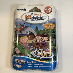 Vtech-V-Smile-Motion-Active-Learning-System-Disney-Little-Einsteins-Game-New