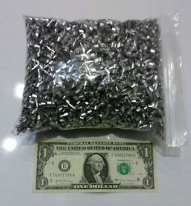 8 pounds 6061 Aluminum shavings//chips from CNC milling machine.