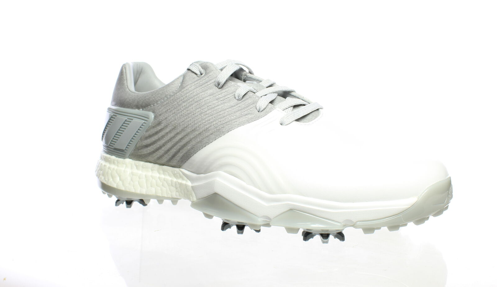 Adidas Mens Adipower 4Orged White Golf Shoes Size 7.5 (Wide) (1516440)