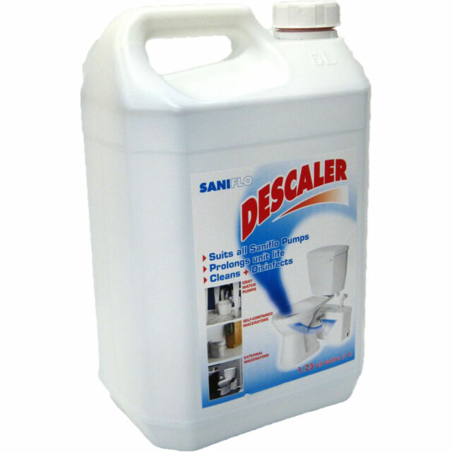Saniflo Descaler Gallon Bathroom Cleaner EBay - Bathroom cleaning solution