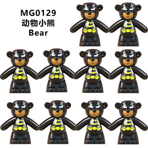 MG0126 Kids Toy #0126 Compatible Movie Gift Educational Weapons Animals #JLB