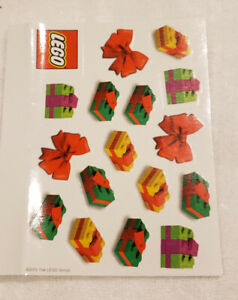LEGO sticker sheet of gifts