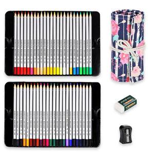 Great-Art-School-Supplies-Manga-Colors-48-Colored-Pencils-Pouch-Sharpener-Eraser