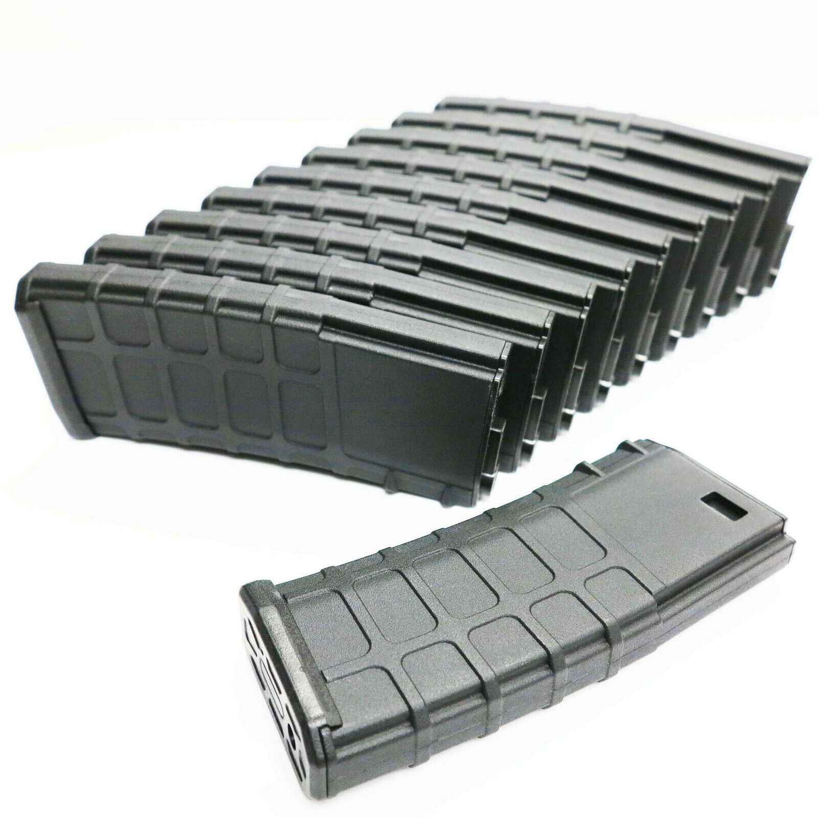 Airsoft G&P 130rd GMAG Mid-Cap Magazine for Toyko Marui M Series AEG (10pcs BK)