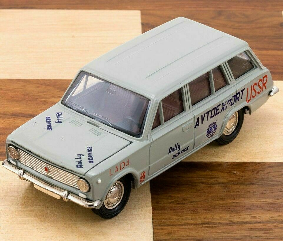 Lada VAZ 2102 Rally Service Avtoexport Car Model 1 43 Made in USSR