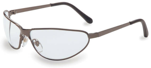 uvex S2450 uvex Tomcat Safety Glasses With Gunmetal Frames and Clean ...