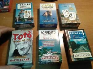 6-cubiertas-tarjeta-de-napolitano-foto-napoli-toto-capri-proverbios-de-pompeya