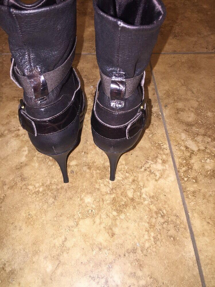 Stuart Weitzman High Heel Ankle Ankle Ankle Boots, Black, size 7 1371af