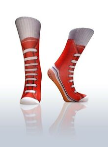 Kids-Fun-Novelty-Pair-of-Socks-Red-Sneakers-Costume-Accessory-or-Gift-Idea