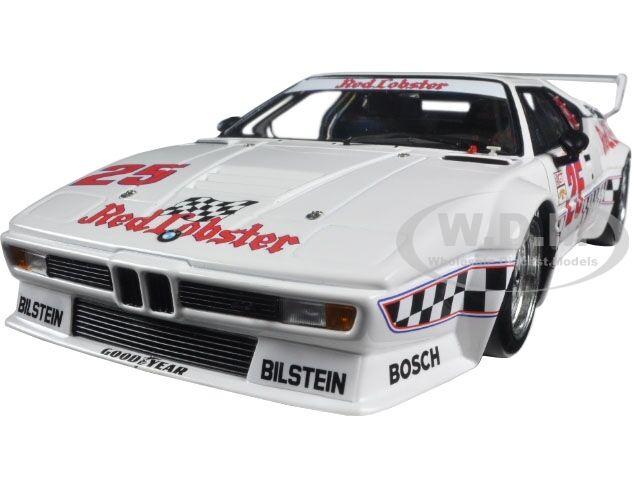BMW M1 rouge Lobster Cowart Miller  Gto Class Winner 1981 1 18 MINICHAMPS 180812925  se hâta de voir