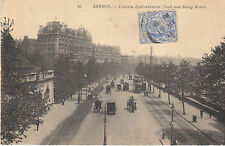 CPA LONDON VICTORIA EMBRANKMENT CECIL AND SAVOY HOTELS