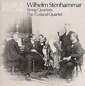 WILHLEM-STENHAMMAR-STRING-QUARTETS-NOS-3-amp-4-NEW-CD