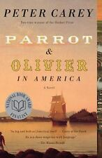 Parrot and Olivier in America, Peter Carey, Very Good Book