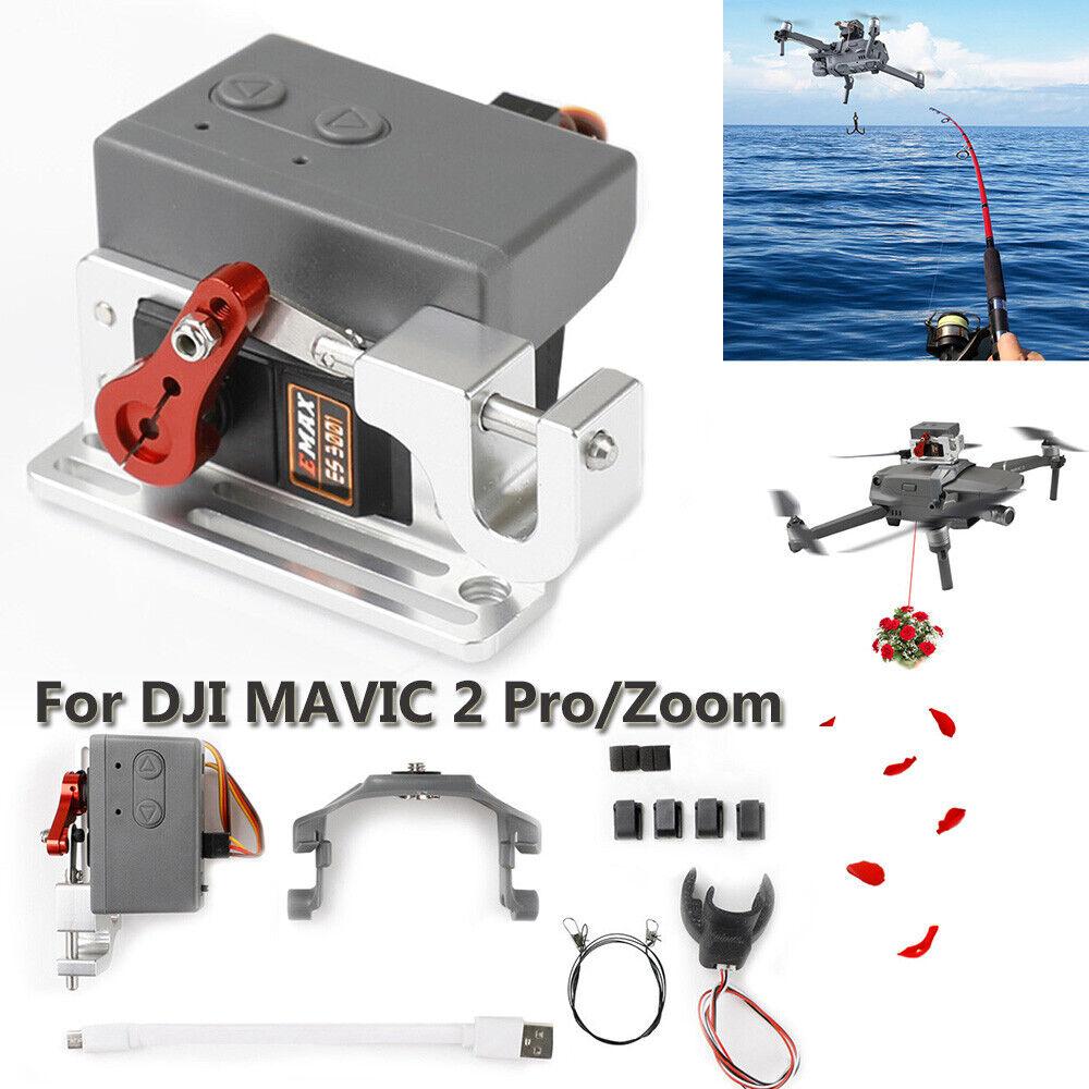 Drone Clip  PAYLOAD consegna Drop trasporto dispositivo Kit per DJI Mavic 2 Zoom Pro  grande vendita