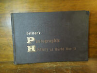 Vintage Collier's Photographic History of World War II Book 1945