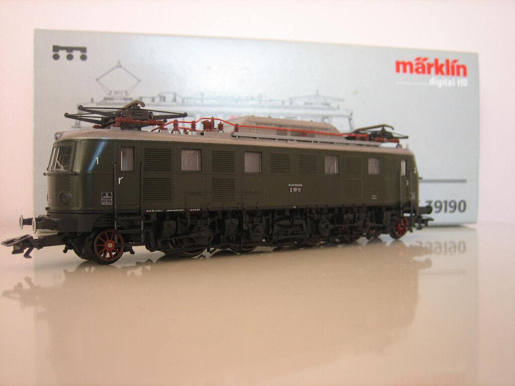 Märklin H0 39190 E-Lok Br 19 Digitale Confezione Originale Nuovo