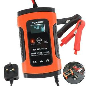 Car-Battery-Charger-12V-5A-LCD-Intelligent-Automobile-Motorcycle-Pulse-Repair-UK