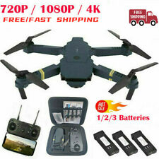Drone X Pro WIFI FPV 4K HD Camera 3 Batteries Foldable Selfie RC Quadcopter HOT