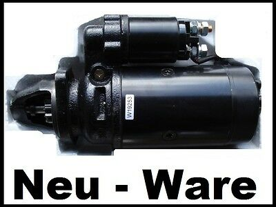 GT124 IFA Ersatzteile Lüdemann Multicar M24 M25 M 24 M 25 Anlasser // Starter