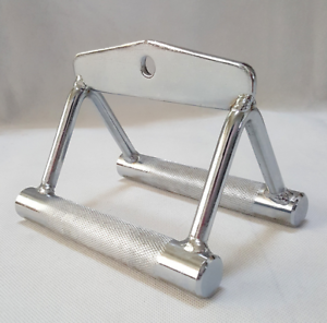 2-BAR-GYM-WORKOUT-HANDLE-ATTACHMENT-STIRRUP-SEATED-ROW-HANDLE-GRIP-FITNESS-CHROM