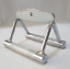 2-BAR-GYM-WORKOUT-HANDLE-ATTACHMENT-STIRRUP-SEATED-ROW-HANDLE-GRIP-FITNESS-CHROM thumbnail 1