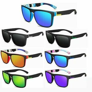 NEW Men Polarized Sunglasses Women Square Cycling Sport Driving Fishing UV400