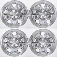 17 Chrome Wheel Skins / Hubcaps (4 Pieces) For 14 15 2014 2015 Jeep Cherokee