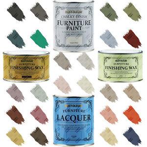 Rust-Oleum-Chalky-Gloss-Furniture-Floor-Paint-Matt-Satin-Lacquer-Wax-125ml-2-5L