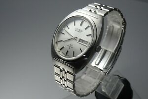 Vintage-1973-JAPAN-SEIKO-LORD-MATIC-WEEKDATER-5606-7140-23Jewels-Automatic