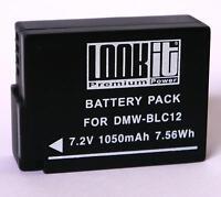 Lookit Markenakku Für Panasonic Lumix Fz200 Fz300 Gx8 Und G5 Bl12e Blc12 E