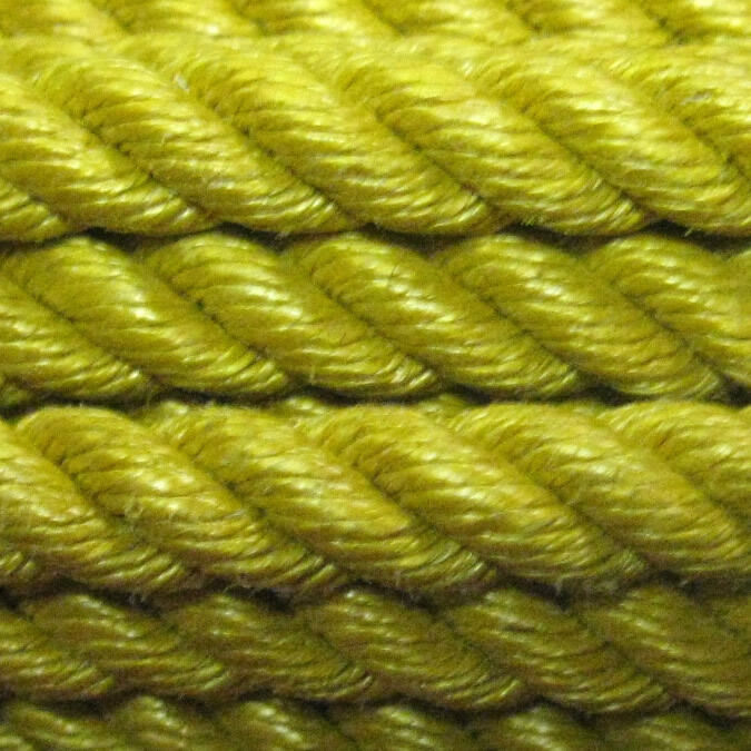 Synco Brand 3 Strand,  10.0 x 50' - gold Ranch Poly Rope  amazing colorways